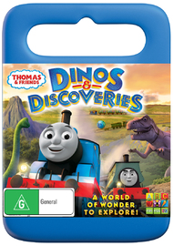 Thomas & Friends: Dinos & Discoveries on DVD