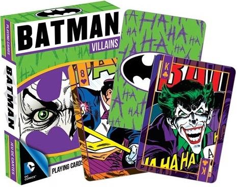 Batman: Villains Playing Cards