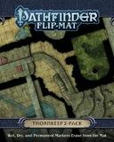 Pathfinder RPG: Thornkeep Dungeons Flip-Mat - 2 Pack