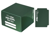 Ultra Pro: Pro-Dual Deck Box - Green (180ct)