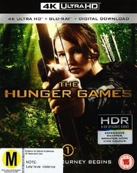 Hunger Games on UHD Blu-ray