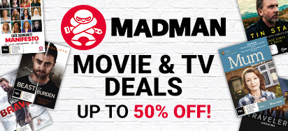 Madman September Movie & TV Deals! Up to 50% off!