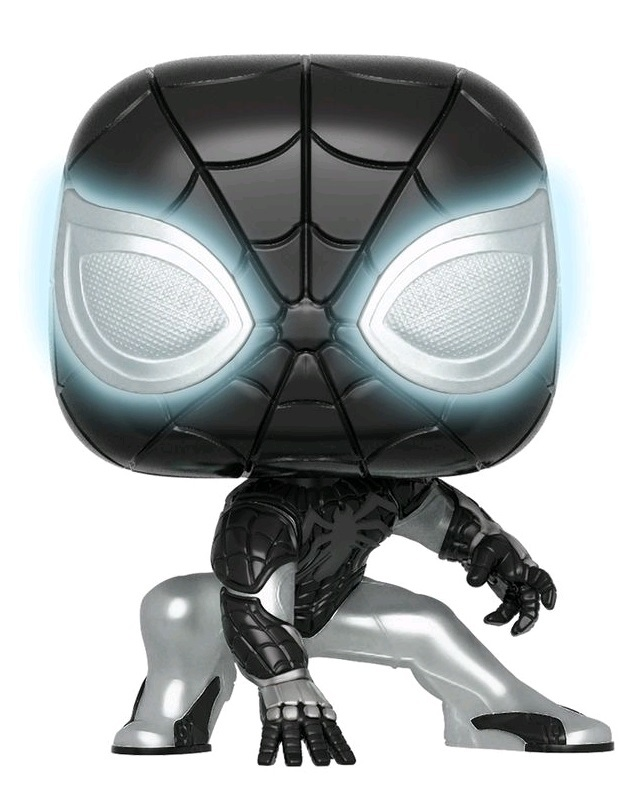 Marvel - Spider-Man (Negative Suit/Glow) Pop! Vinyl Figure image
