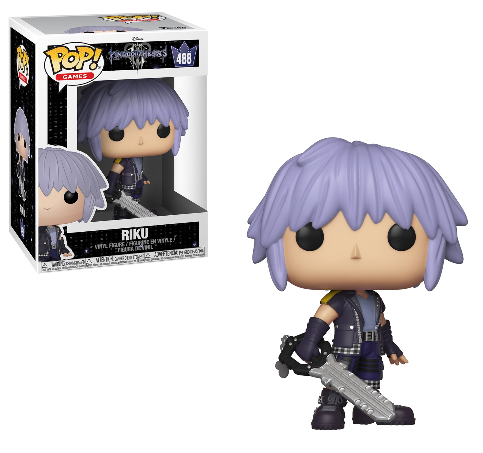 Kingdom Hearts III - Riku Pop! Vinyl Figure image