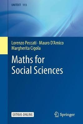 Maths for Social Sciences by Lorenzo Peccati