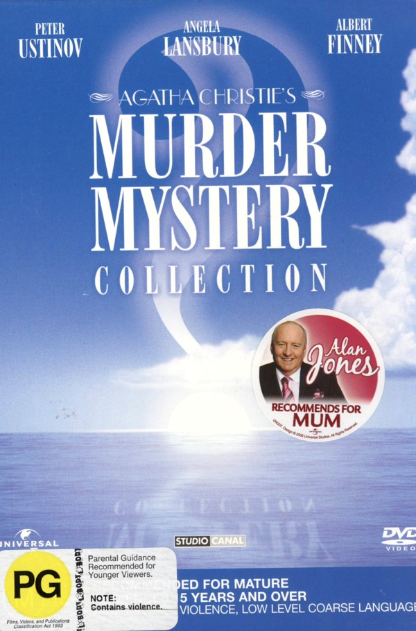 Agatha Christie Murder Mystery Collection on DVD image