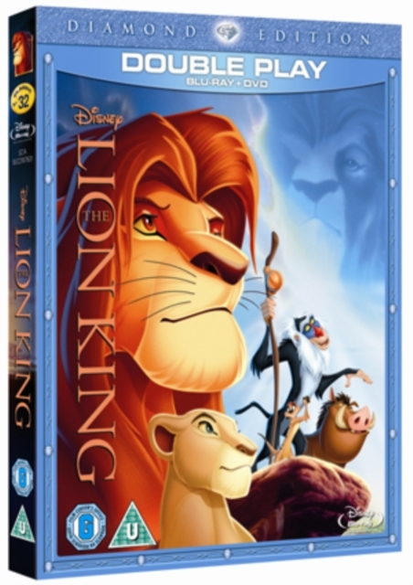 The Lion King (Diamond Edition) [Blu-ray + DVD] on DVD, Blu-ray