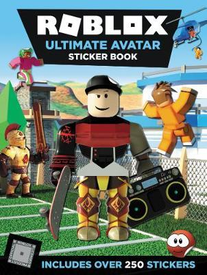 Roblox Ultimate Avatar Sticker Book by Official Roblox