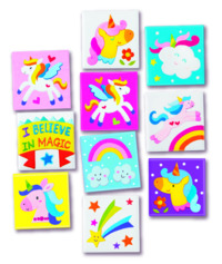 4M Craft: Magnetic Unicorns - Mini Tile Art