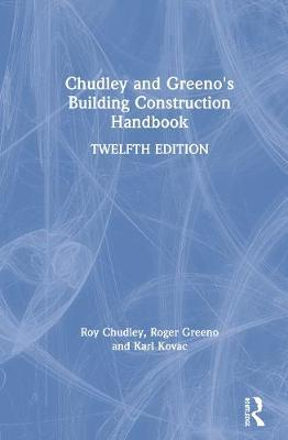 Chudley and Greeno's Building Construction Handbook by Roy Chudley image