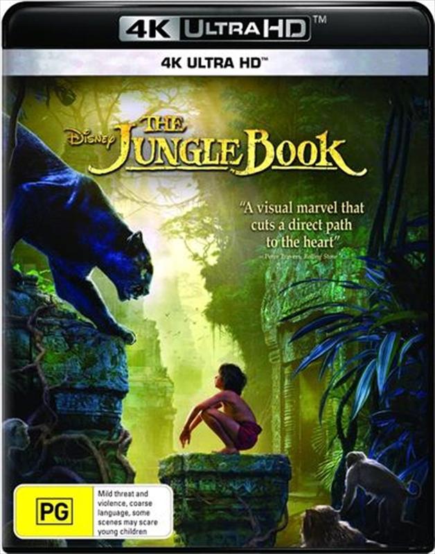 The Jungle Book (2016) on UHD Blu-ray