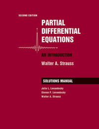 Student Solutions Manual to accompany Partial Differential Equations: An Introduction, 2e by Walter A. Strauss image