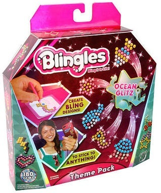 Blingles Themed Refill Pack - Ocean Glitz image
