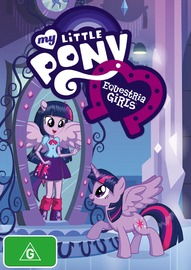 My Little Pony - Equestria Girls on DVD
