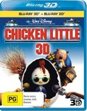 Chicken Little 3D DVD