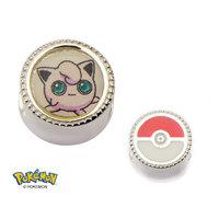 Pokemon Jigglypuff Sterling Silver Charm