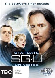 Stargate Universe - Season 1 (5 Disc Set) on DVD image