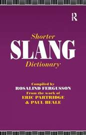Shorter Slang Dictionary by Paul Beale image