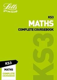KS3 Maths Complete Coursebook by Letts KS3 image