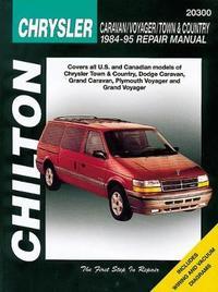 Dodge Caravan/Voyager/Town & Country (84 - 95) by Chilton Automotive Books image
