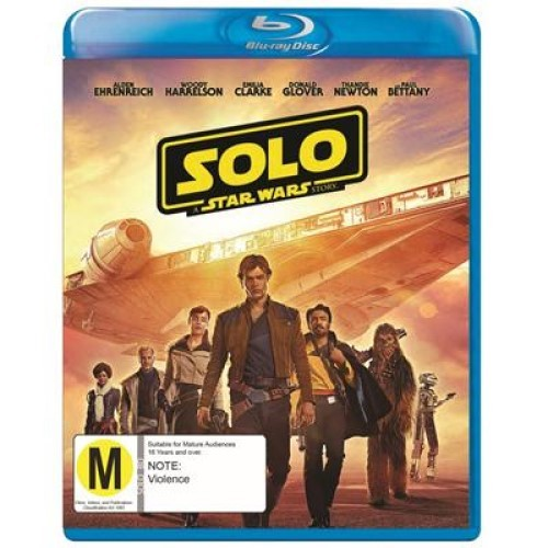 Solo: A Star Wars Story on Blu-ray image