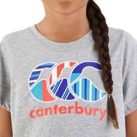 Canterbury: Girls Uglies Tee - Classic Marl (Size 10)