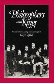 Philosophers and Kings by Gary McCulloch