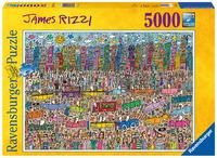 Ravensburger 5000 Piece Jigsaw Puzzle - James Rizzi: Skyline