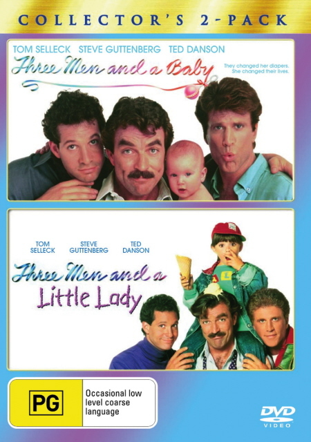 Three Men And A Baby / Three Men And A Little Lady - Collector's 2-Pack (2 Disc Set) on DVD