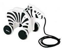 Brio - Pull-Along Zebra