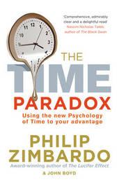 The Time Paradox by Philip G Zimbardo image
