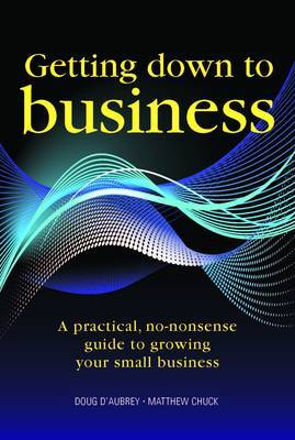 Getting Down to Business by Doug D'Aubrey image