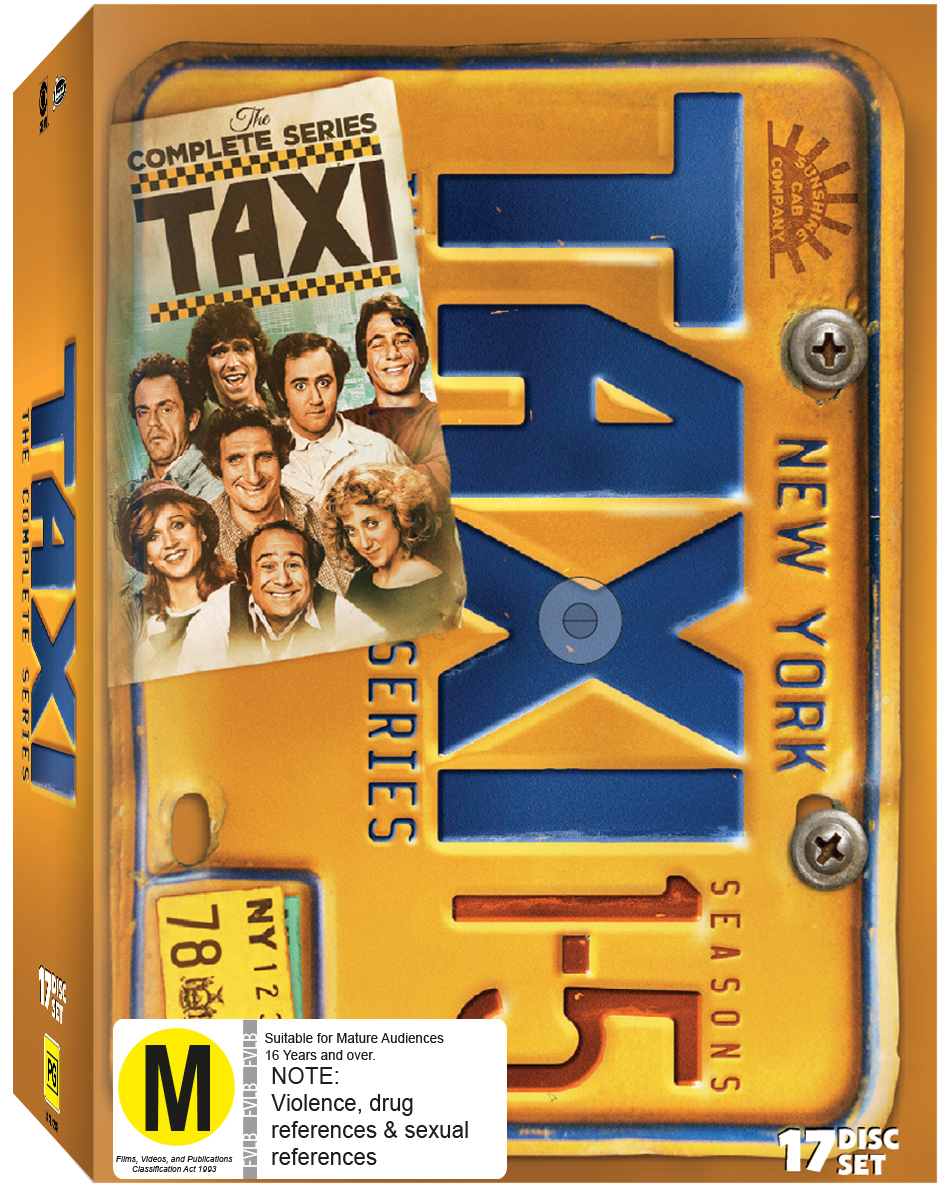 Taxi Complete Collection on DVD image