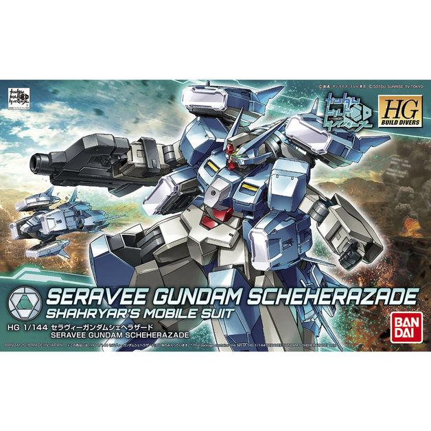 HGBD 1/144 Seravee Gundam Scheherazade - Model Kit