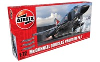Airfix 1:72 McDonnell Douglas FG.1 Phantom Scale Model Kit