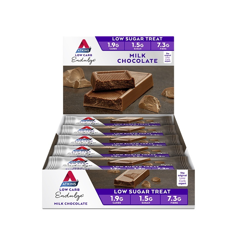 Atkins Endulge Bars - Milk Chocolate (Box of 15) image