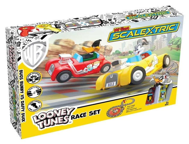My First Scalextric: Loony Tunes - Slot Car Set
