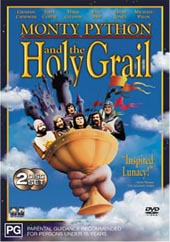 Monty Python - And The Holy Grail on DVD
