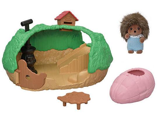 Sylvanian Families - Baby Hedgehog Hideout