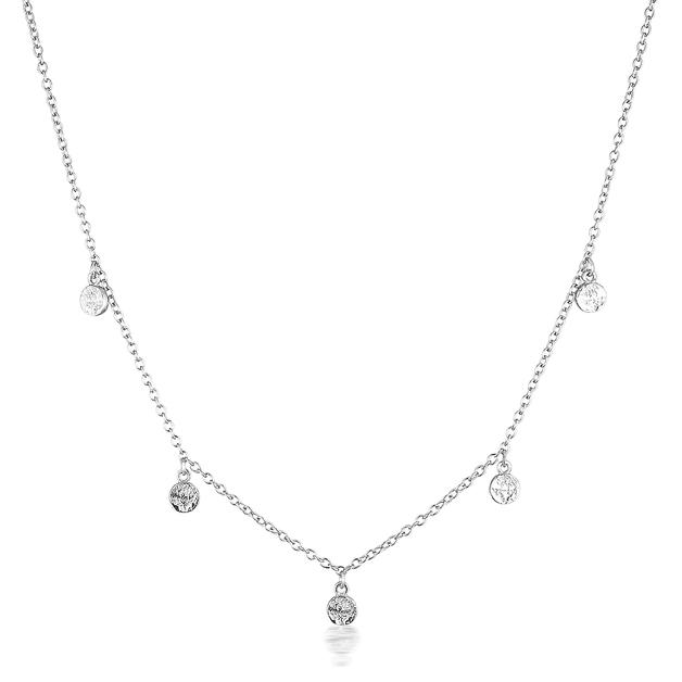 El & Ro: Liberty Necklace - Silver