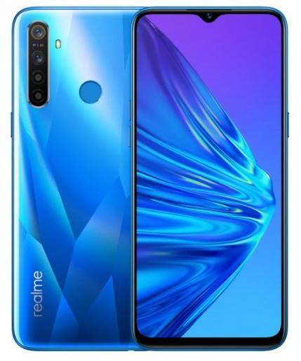 Realme 5 (128GB/4GB RAM) - Crystal Blue