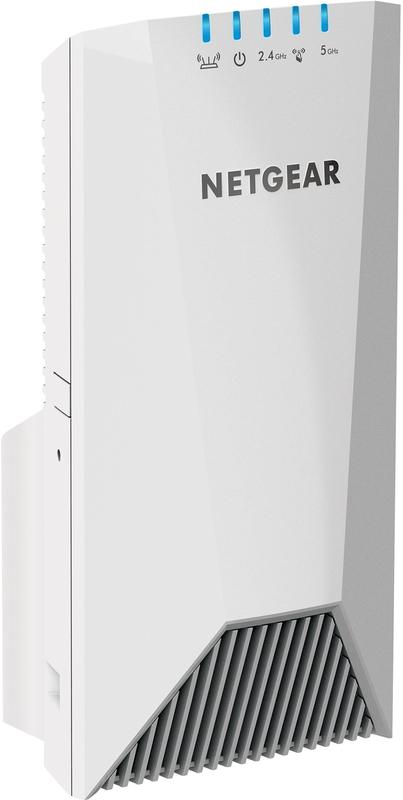 NETGEAR AC2200 Nighthawk X4S Wall-Plug Tri-Band WiFi Range Extender