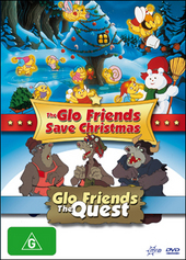 Glo Friends Save Christmas, The / Glo Friends: The Quest on DVD