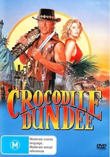 Crocodile Dundee on DVD image