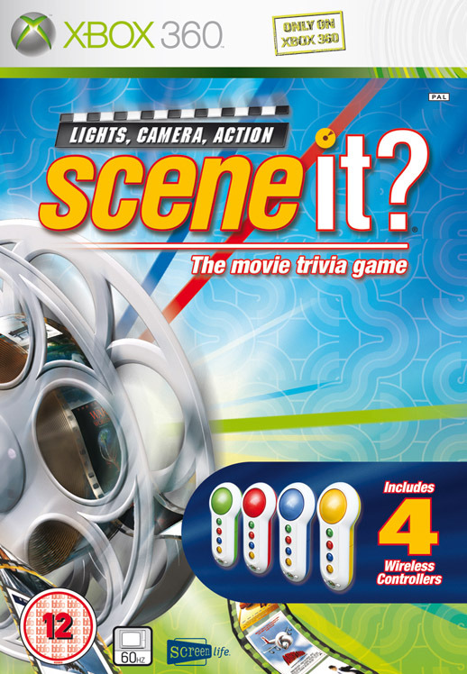 Scene It? Lights, Camera, Action (includes Buzzers) for Xbox 360
