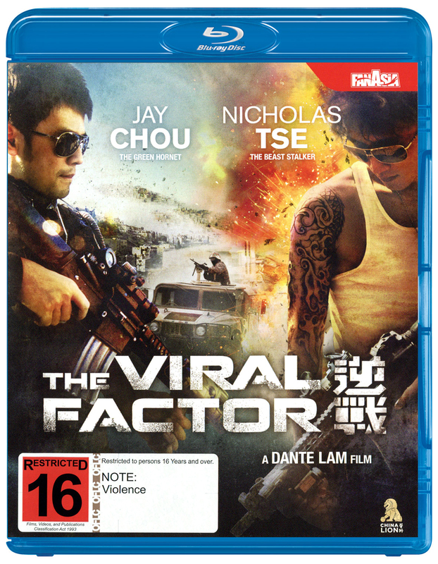 The Viral Factor on Blu-ray
