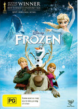 Frozen on DVD