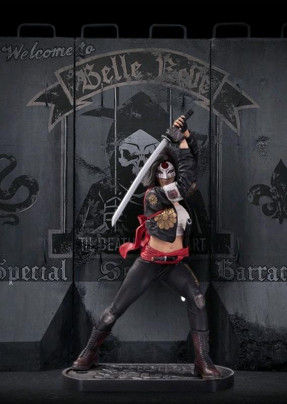 Suicide Squad - Katana Statue