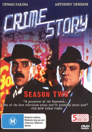 Crime Story (1986) - Season 1 (5 Disc Box Set) on DVD image