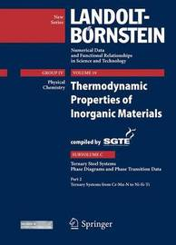 Thermodynamic Properties of Inorganic Materials Compiled by SGTE